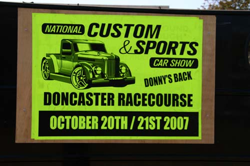 National Custom & Sports Car Show poster