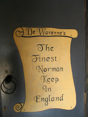 De Warenne's - The Finest Norman Keep in England