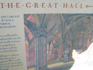 conisbrough-castle - The Great Hall