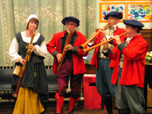 Doncaster Early Music group the Waites